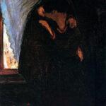 El beso de Edvard Munch