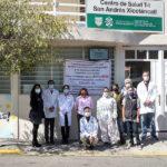 Trabajadores de Centro de Salud